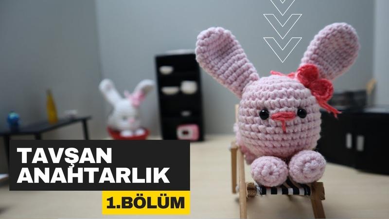 Tavşan Anahtarlık Yapımı Kendin Yap