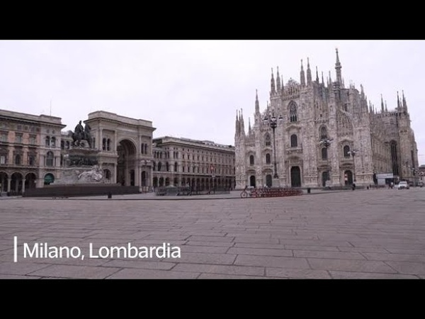 Coronavirus l'Italia si ferma le immagini dalle città deserte da Milano a Napoli
