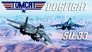DCS: F-14 Tomcat Vs Su-33 Dogfight PvP