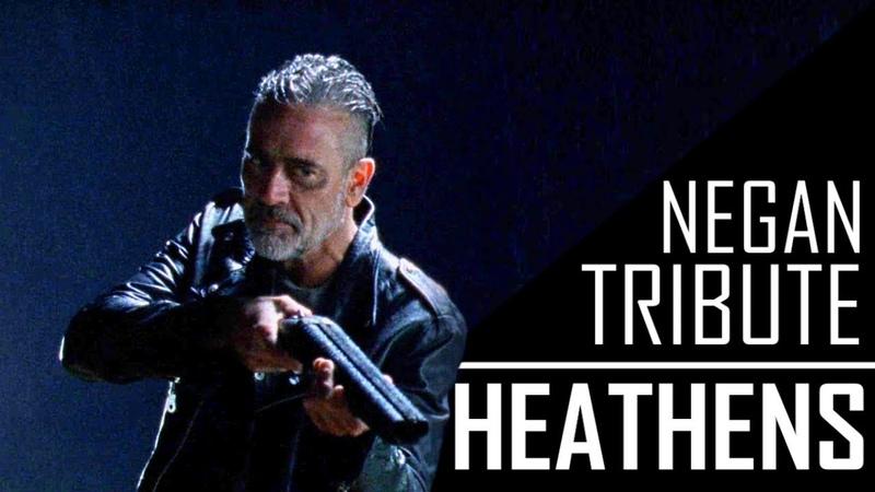 Negan Tribute Heathens TWD