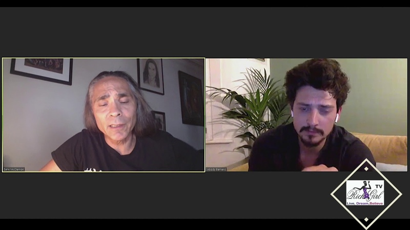 Cast Interview Nat Geo's BARKSKINS Zahn Mc Clarnon and Anuerin Barnard Part 3