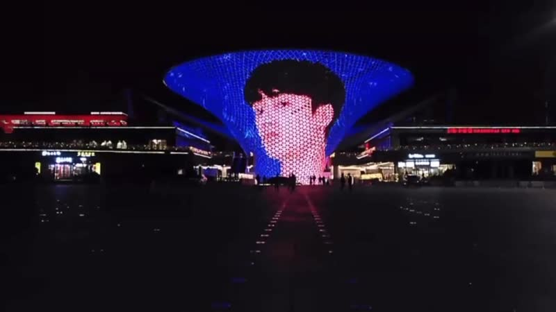 200405 Light Show at Shanghai Expo Sunbeam