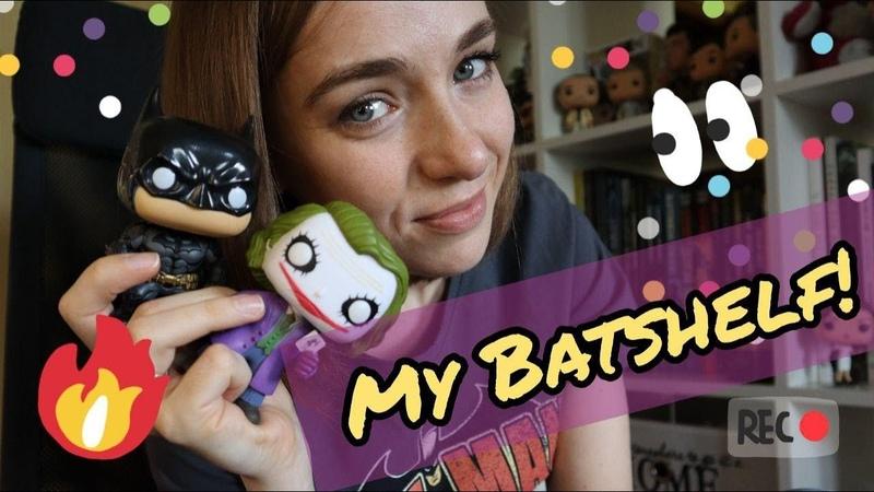 МОИ КНИЖНЫЕ ПОЛКИ🔥ЧАСТЬ 2📚Комиксы о Бэтмене и не только!🦇