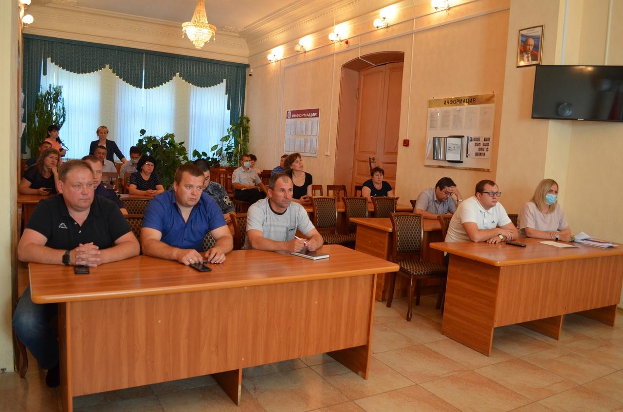 В администрации Петровского района состоялось заседание антитеррористической комиссии