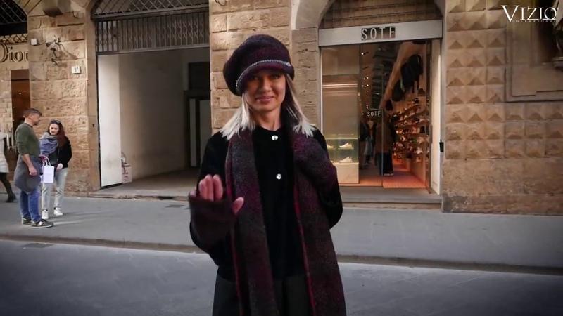Vizio Визио итальянские шапки видео съемок коллекции головных уборов Италии Vizio Collezione