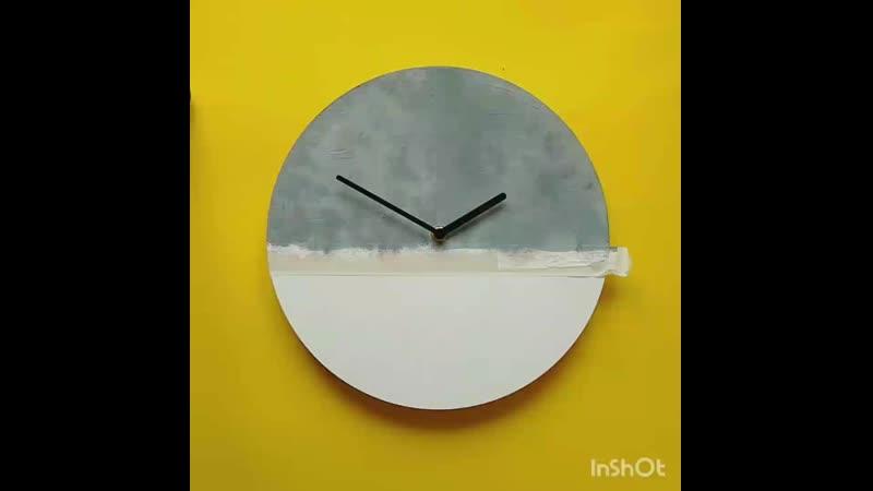 Настенные часики clock oreshka