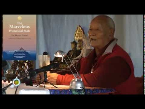 Chögyal Namkhai Norbu speaks about the new translation of the Mejung Tantra