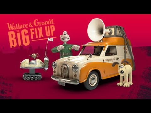Wallace Gromit: The Big Fix Up Interactive Adventure Coming Autumn 2020