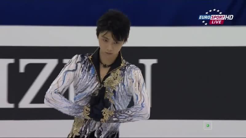 Yuzuru Hanyu 2015 WC FS [Евроспорт]