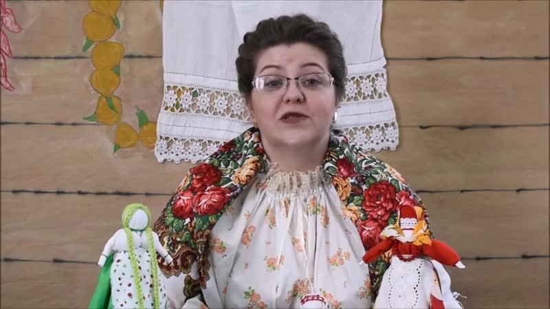 МК народная кукла Веснянка