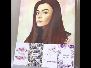 Примеры наших открыток