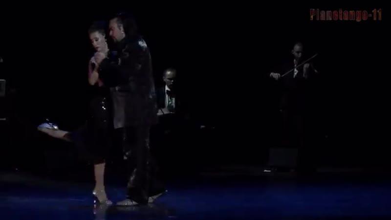 Chicho Frumboli Juana Sepulveda and Solo Tango Orquesta A. Piazzolla Oblivi