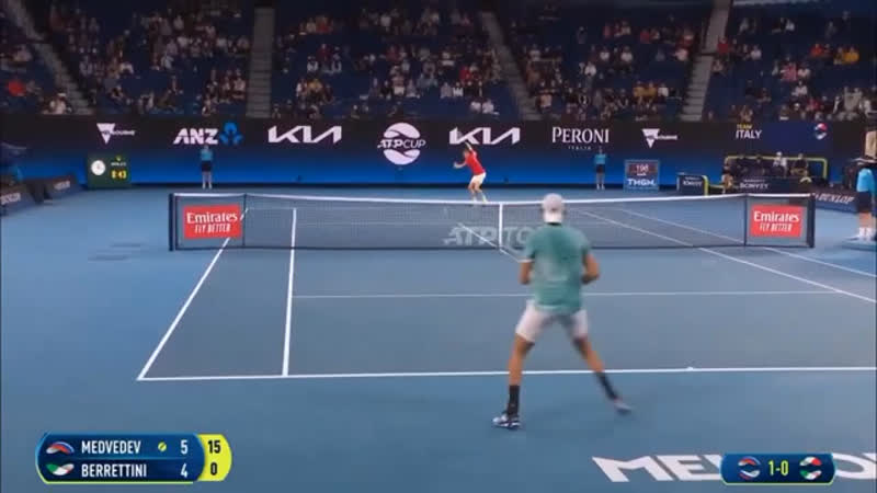 ATP Cup | Даниил Медведев - Матео Берреттини